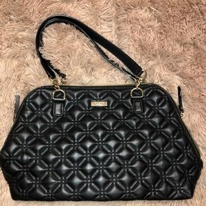 Kate Spade Over the Shoulder Puffed Lather Bag